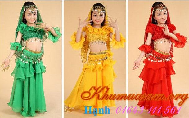 Trang phục múa belly dance trẻ em