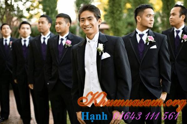 Cho thuê áo vest nam dành cho chú rể hoặc hội nghị
